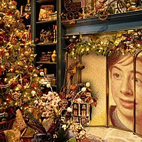 Photo effect - Christmas Room