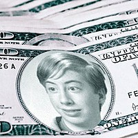 Photo effect - Dollars