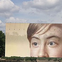 Photo effect - Huge Billboard