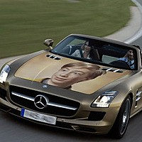 Photo effect - Mercedes-Benz
