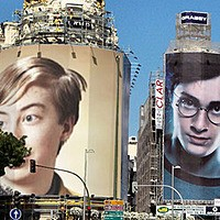 Photo effect - Neighbour of Harry Potter