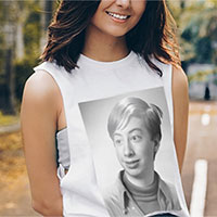 Photo effect - Photo print on tshirt